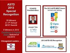 ASTD BEST-- CLLC2013 Recognizing Leaders