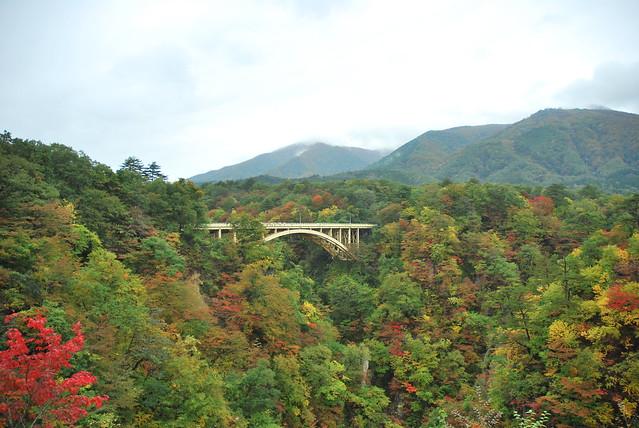鳴子峡大深沢橋(Narukokyo Ohfukazawabashi)   October 24, 2013