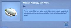 Modern Arcology Bot Arena