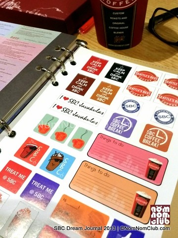 SBC Journal Stickers
