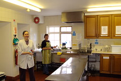 In the vegan kitchens of Dhanakosa Buddhist Retreat Centre near Balquhidder Scotland.