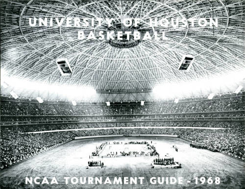 University of Houston Basketball NCAA Tournament Guide - Front cover