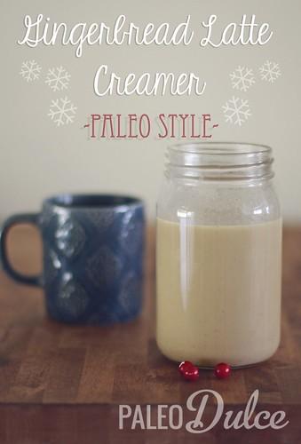 Paleo Gingerbread Latte Creamer