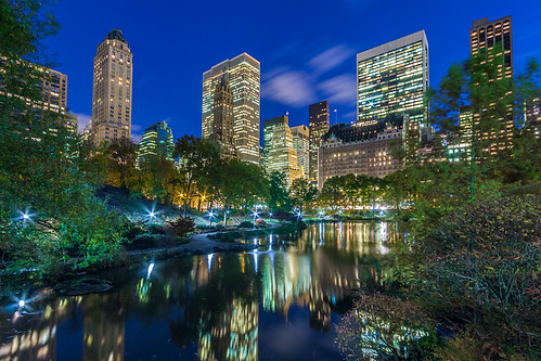 The Pond At Central Park
