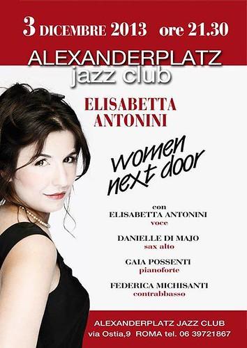 JAZZ DELLA PORTA ACCANTO. Stasera Alexanderplatz by cristiana.piraino
