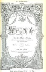 Image taken from page 935 of 'Weltgeschichte ... Dritte verbesserte Auflage. (Fortgesetzt von Dr. Richard V. Kralik, Bd. 23, etc.)'