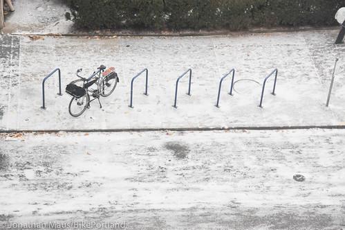Snow scenes in Portland-21