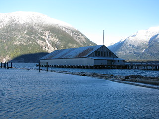 Bella Coola Estuary Boathouse - 3