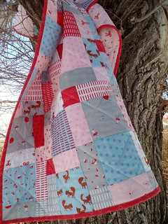 A Walk In The Woods Disappearing Nine Patch Quilt