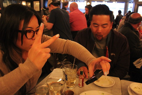 Natasha Phan and Roy Choi at Neptune Oyster