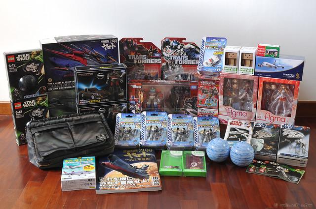 My Dec 2013 Tokyo loot!
