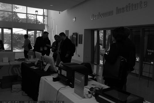 HP Sponsor Table   TEDxSanDiego 2013