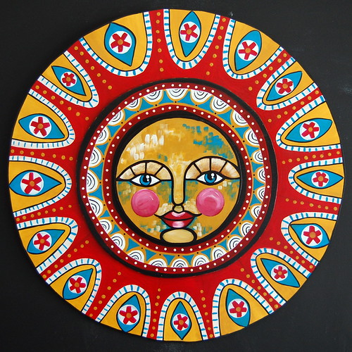 Folk Art Sun - Full