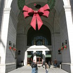 Giant Wreath at Union Station, D.C.