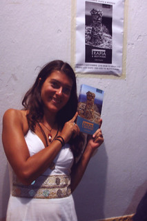 Proud Alexia and her Guidebook about Ikaria