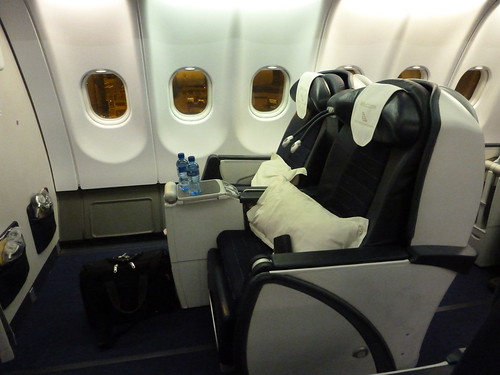South African Airways Airbus 340-300 Business Class Seat