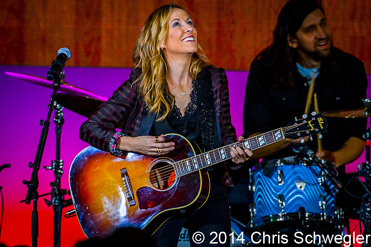 Photos Of Sheryl Crow From January 17th 2014 At The Cobo
