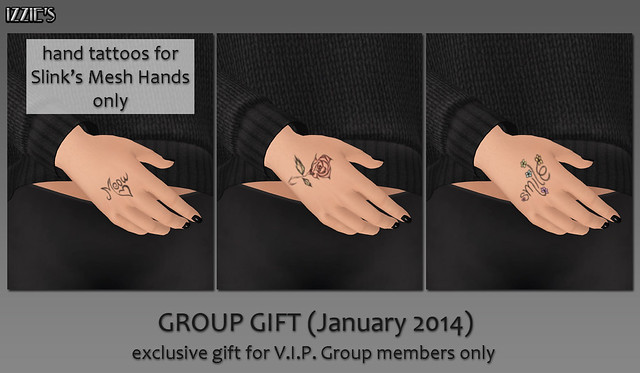 V.I.P. Group Gift January 2014