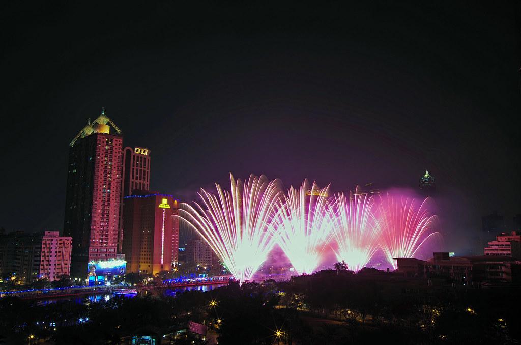2014 高雄燈會藝術節 開幕煙火
