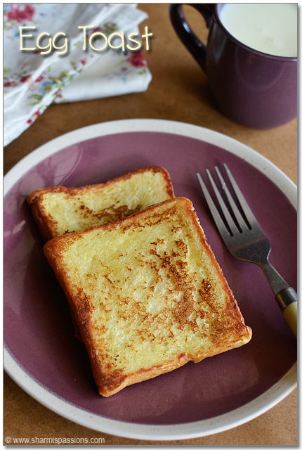 French toast recipe easy bread toastwith eggs sharmis passions french toast recipe ccuart Gallery