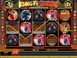 Kung Fu Monkey Free Spins