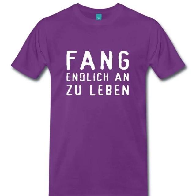 Fang Endlich An Zu Leben T Shirt Francisco Evans TM Www.spreadshirt.de