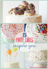 5 party cakes to inspire you