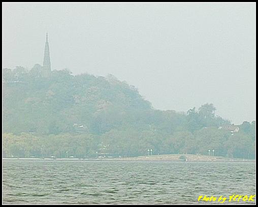 杭州 西湖 (其他景點) - 014 (古湧金門附近景點看杭州地標 保淑塔及西湖十景之 斷橋)