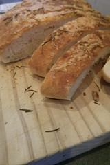 baking, bread, baked goods, ciabatta, produce, food, cuisine, sliced bread, sourdough,