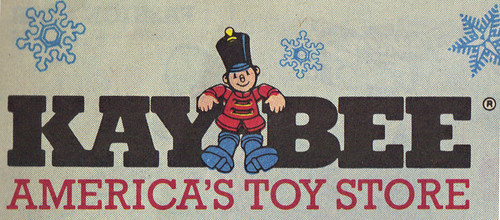 KAY•BEE TOY STORES :: Christmas in October pg.1 // ..KAY•BEE logo isolated  (( OCTOBER,8 1989 ))