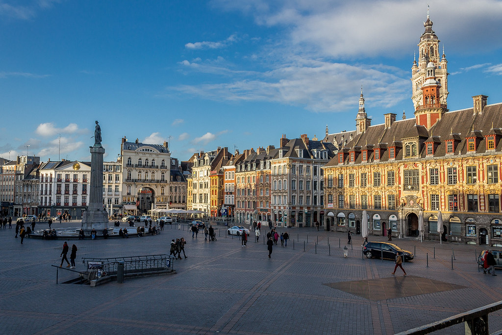 Grand'place of Lille