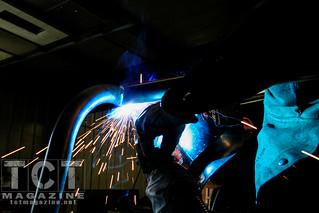 Addicted bed rack install welding   TCT Magazine January 2014
