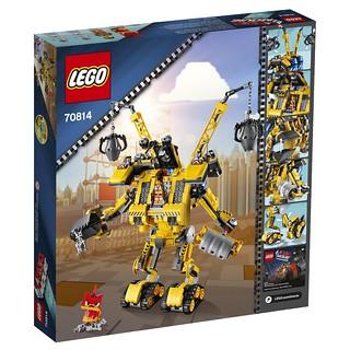 The LEGO Movie 70814 Back