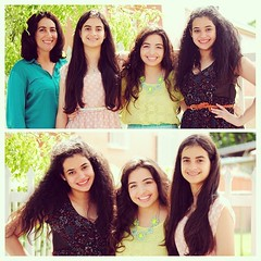 We have really great hair genes. #family #hair #love