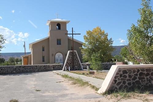 St. Anne's Catholic Church, Alcalde, NM