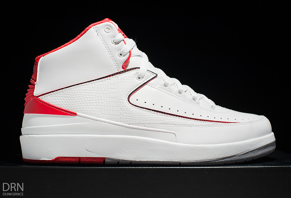2014 White & Red II's.