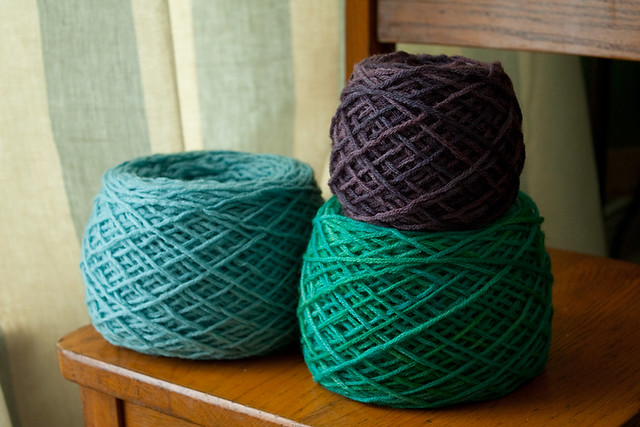 Overdyed Yarn