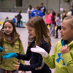 After spending the school year participating in our Mind Trekkers after-school clubs, about 100 local high school students came together to host a science festival for 4th and 5th graders!  Big thanks to the State Farm Youth Advisory Board for making this project possible!