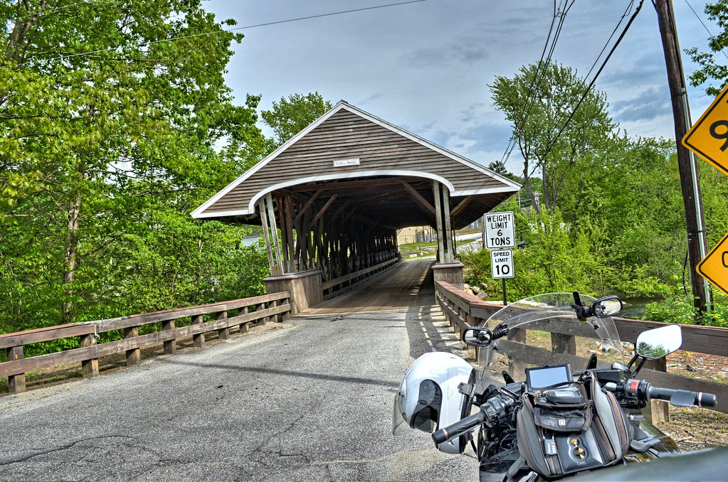 Rowell's Covered Bridge - West Hopkinton NH