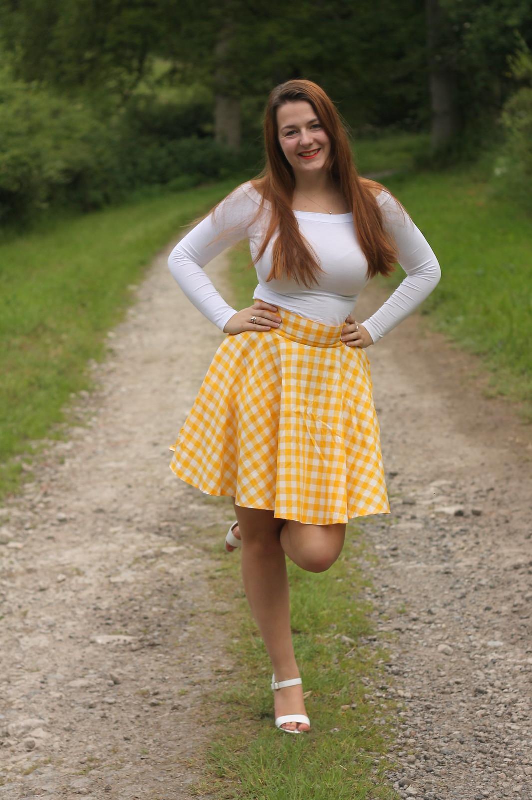 handmade circle skirt