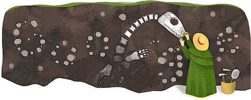 5/21 Google 首頁:Mary Anning
