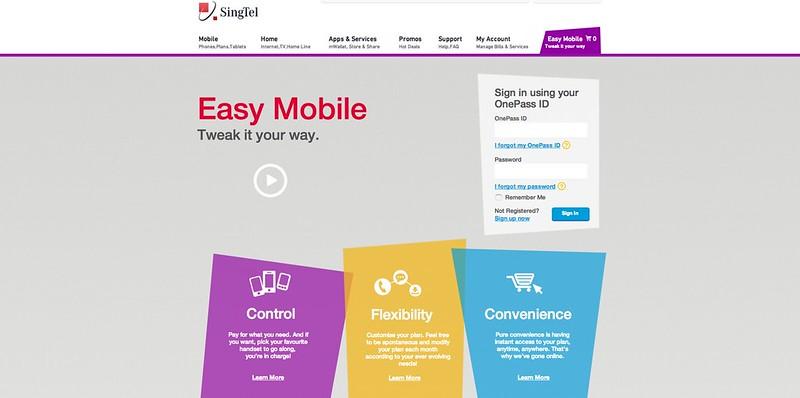 SingTel Launches Customized Postpaid Mobile Plans