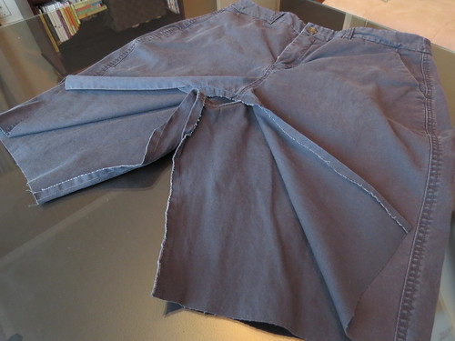 Cargo Skirt - In Progress