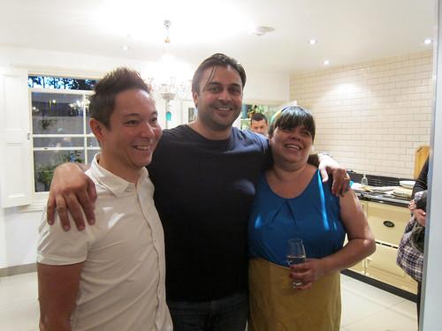 Luiz, Dhruv, Rosana