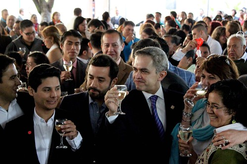 Jornada de Matrimonios Igualitarios en la delegación Miguel Hidalgo. IGV