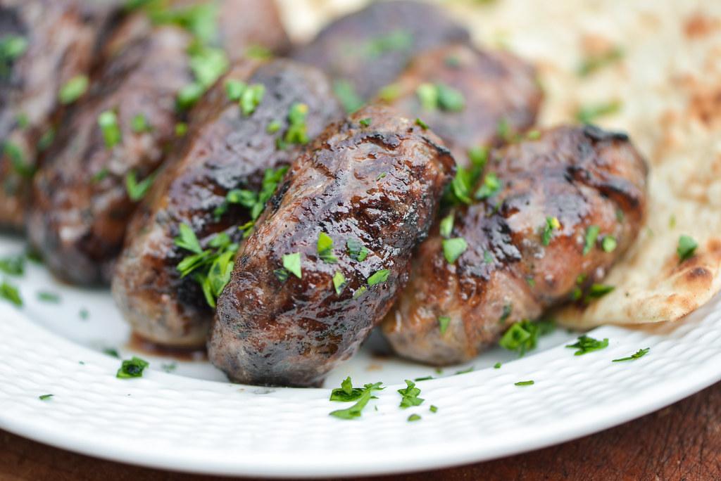 Sheftalia (Cypriot Lamb and Pork Sausage)