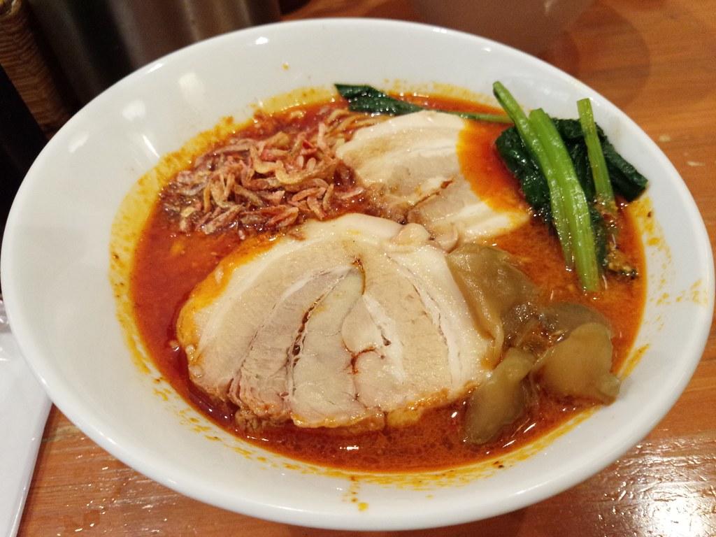 ほおずきの太肉担々麺
