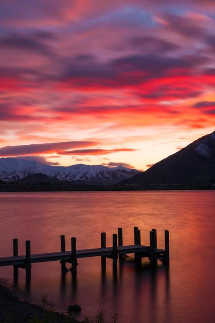 Photo:Queenstown sunrise By Kobe Jiang