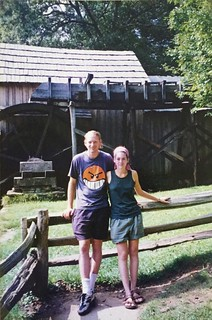 Steve and Krista at Mabry Mill