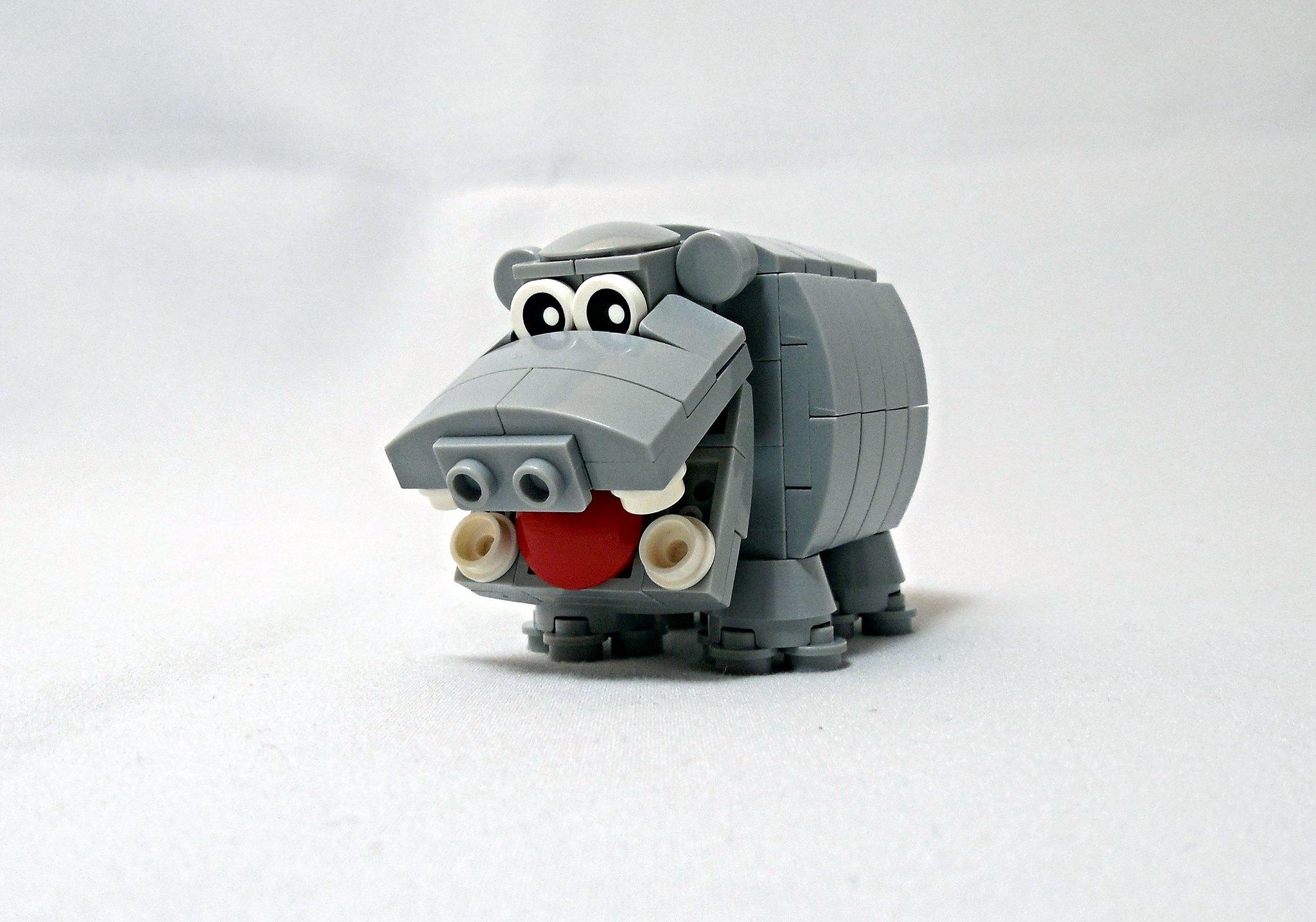 LEGO® MOC by Vitreolum: Hippo